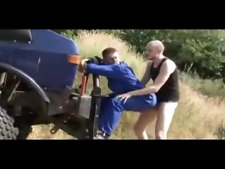German skinheads fucking outdoors cum piss