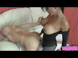 Sex Therapist Jasmine Shy Pegs Lance Hart and Milks Him On Her Tits
