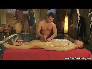 Relaxing erotic massage for gay