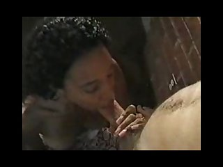 Ebony beauty sensual suck