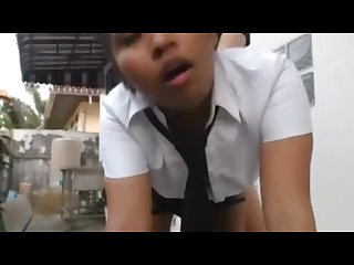 favourite fucking thai school girl after school