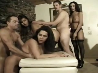 World S greatest Transsexual orgy