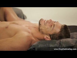 Gay buddy massage sensation