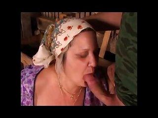 Ass fucked granny