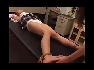 Japan schoolgirl foot torture