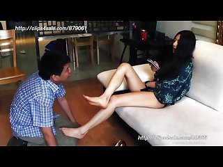 Chinese mistress feet slave