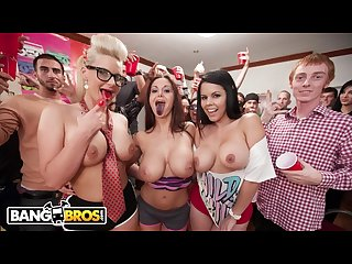 Bangbros phoenix marie Ava addams and diamond kitty invade college dorm