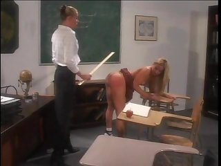 Cheerleaders spanked scene 3