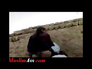 Forbidden outdoor public sex by muslim couple in islamic pakistan