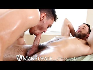 Hd manroyale guy gets to fucked his masseur