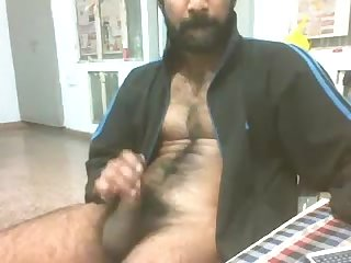 Indian guy jerking