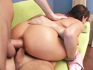Tory lane double vaginal hot