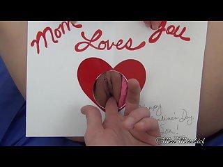 Step mom S homemade valentine