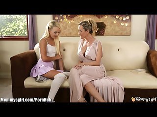 Mommysgirl brandi love seduces step daughter