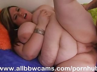 Tattooed guy fucks bbw princes with giand hooters part 3