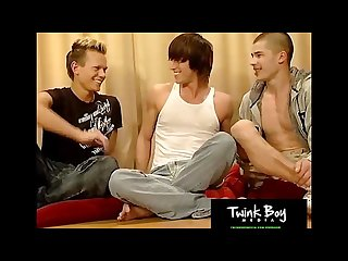 Twinkboy media three horny gay friends