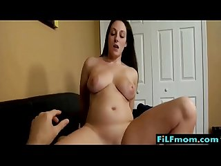 Horny stepmom seduces son and fucks him - FREE Mom xxx Videos at FiLFmom.com