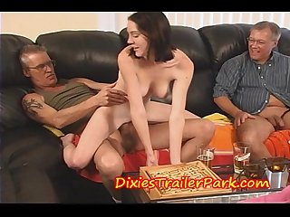 Teen fucks daddy after school