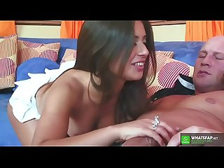 Dutch Young teen Jynx Maze give blowjob to stepdad HD