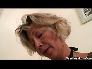 Wife finds him fucking her mom