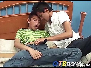 Latin twinks with big fat dicks enjoying a good sex session