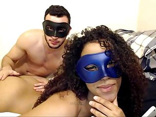 yellow bone with perfect body fucking on cam