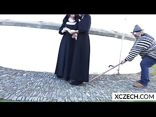 Crazy porn with cathlic nuns and monster - Tittyholes - XCZECH.com