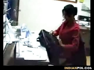 Indian Secretary Sucking And Fucking