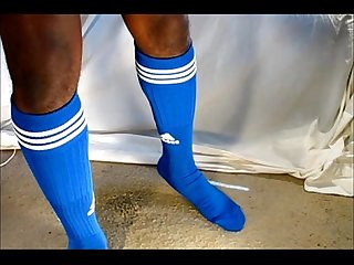 Black gay dildo soccer football 1