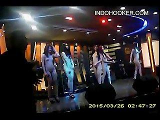 Indonesian striptease sexy dancers