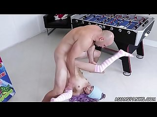 Loli slut riding white cock vina sky asianspanks com