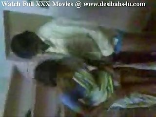 Indian Aunty invited her hubby friend and enjoying