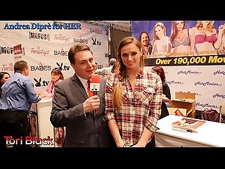Tori Black met by Andrea Dipr�
