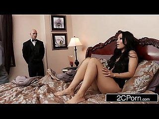 Sneaky butler makes his master S Japanese Wife asa akira Squirt