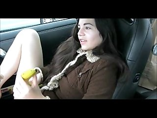 Public Teen Banana - for videos click my uploads