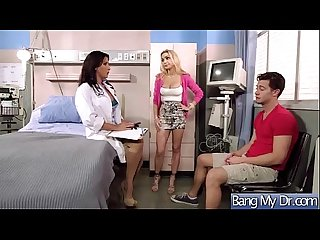 Hard Sex Tape With Dirty Doctor And Slut Patient (devon lezley) clip-12