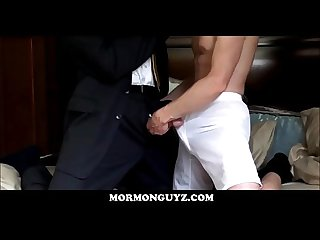 Masked Mormon Boy Fucked By Stranger