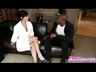 Hot and asian kimmy lee gets interracial fuck with rob piper