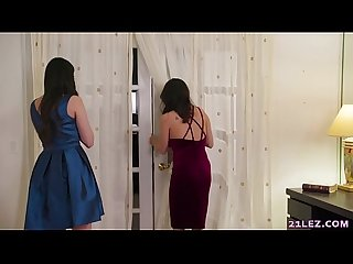 Tricking the lesbian cheater wives - April O'Neil, Jenna Sativa and Georgia Jones