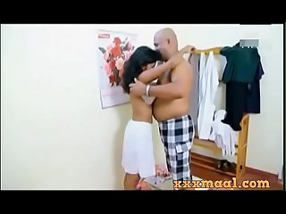 Xxxmaal com hot tenant sex scene with owner