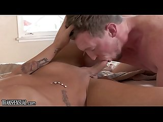 TransSensual Sexy Hunk Fucks His TS Girlfriend