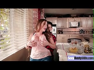 (Ariella Ferrera) Superb Wife With Big Juggs Love Hard Style Intercorse Clip-03