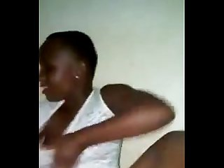 Tanzania sukuma girl shows his body