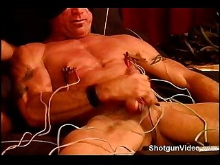 Jim Roberts electro stim tits and balls.