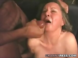 interracial Oma Anal