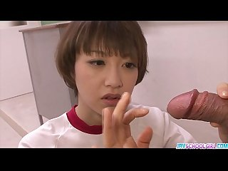 Sexy akina hara blowjob in cute uniform