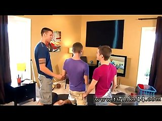 Scene boy twink and men gay sex young twin full length Wii Times Three