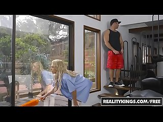 Realitykings sneaky sex Alix lynx chad white reaching up