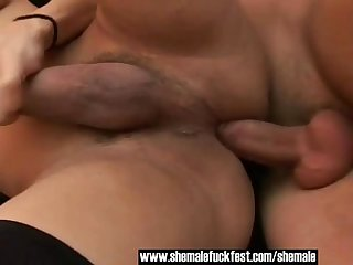 Experienced Shemale loves fucking young cock - Shemale Fuck Fest