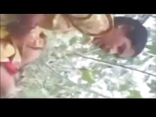 Indian bengoli young girl blowjob and fucking in jungle by xtube3 com